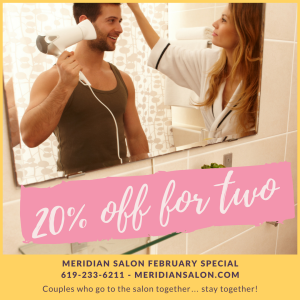 20% off hair services for two